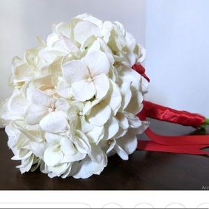 Other - Bridesmaids hydrangea bouquet any color ribbon